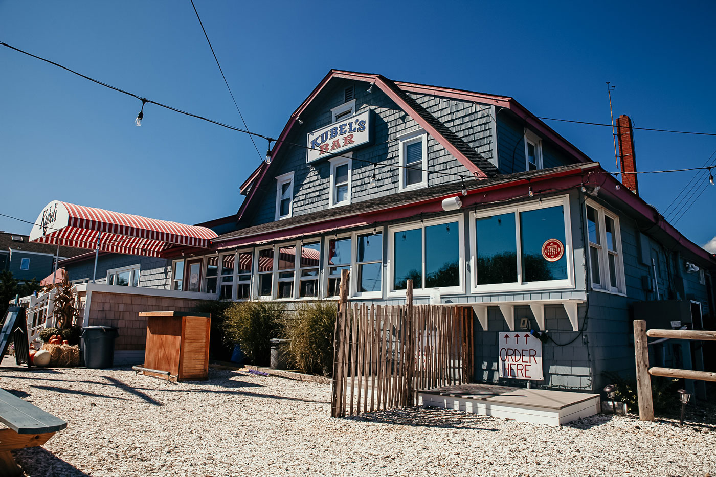 Kubel's Bar in Barnegat Light on Long Beach Island.