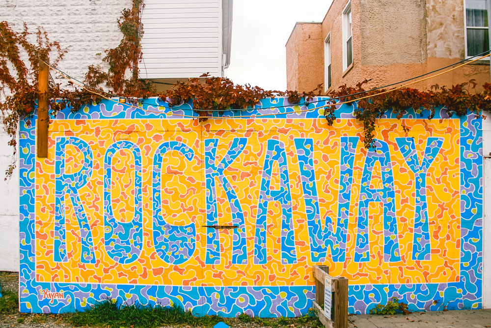 Rockaway mural.