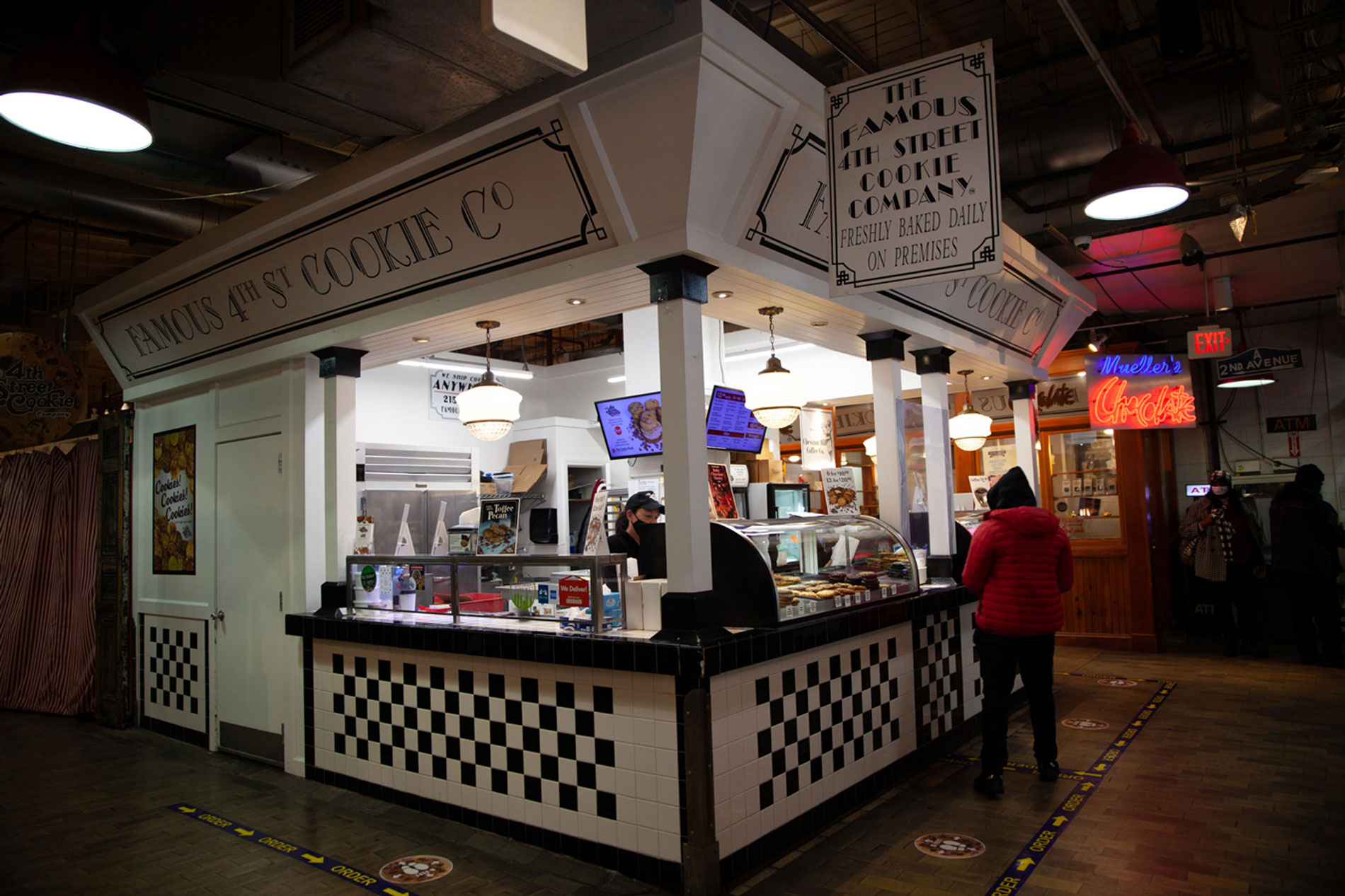 The Famous 4th Street Cookie in Philadelphia's Reading Terminal Market.
