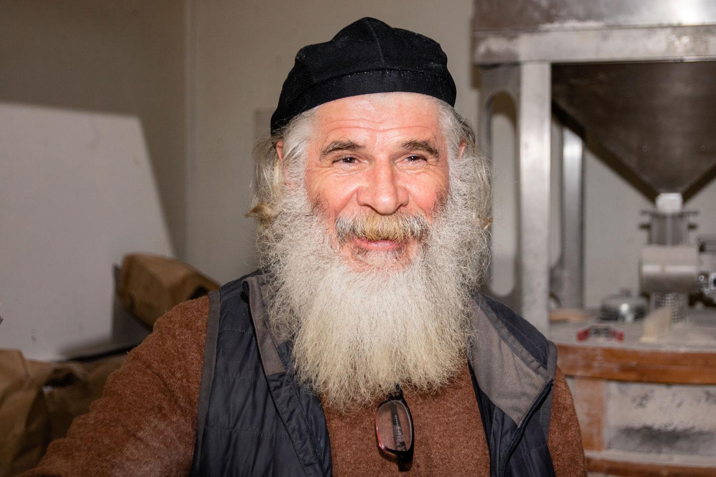 A candid photo of Richard Bourdon.