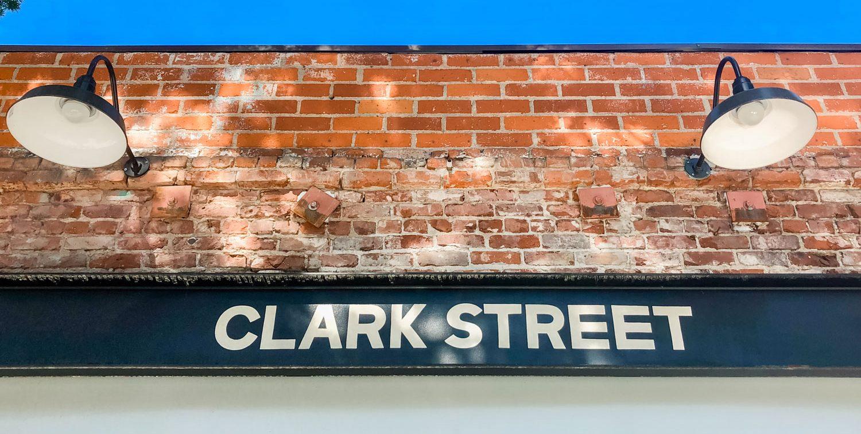 The exterior of Clark Street Bakery.