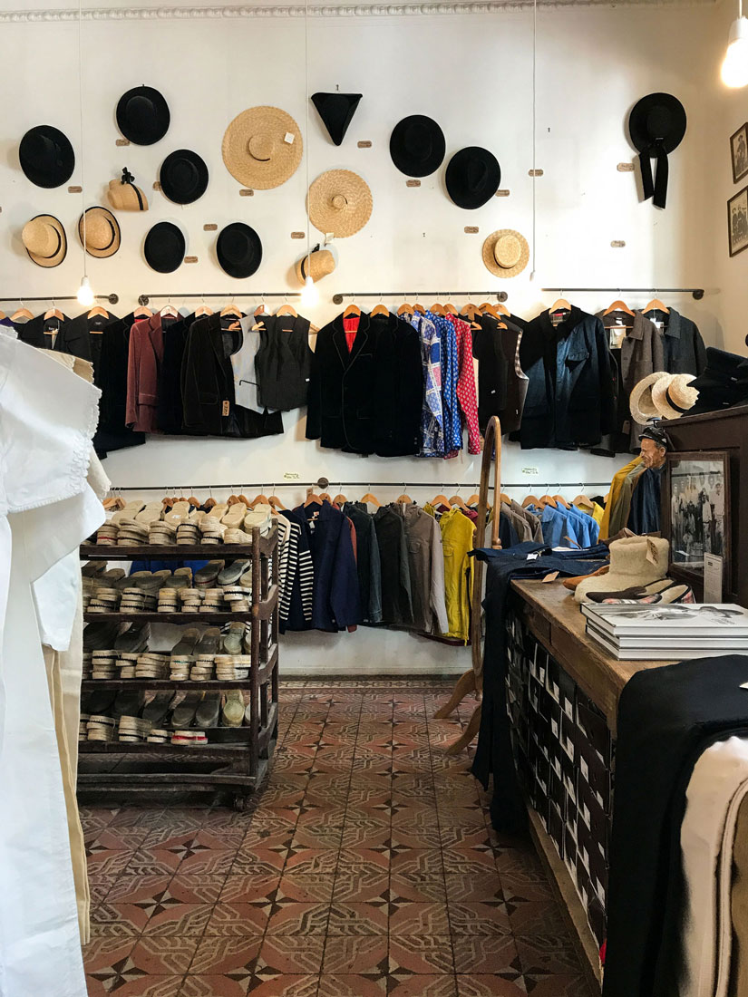 Clothing sold at Maison Empereur.