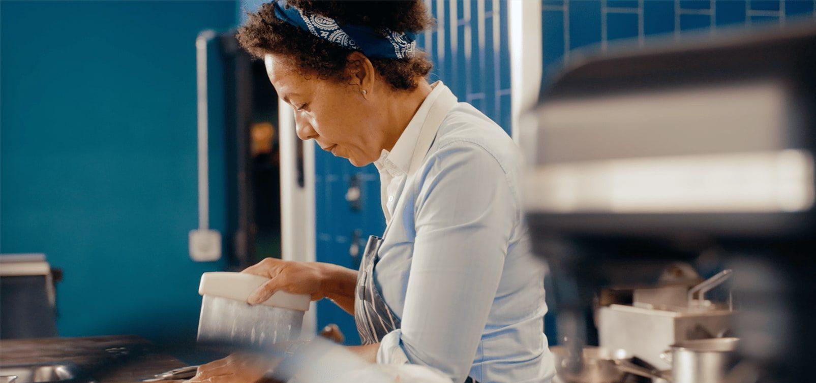 Nina Compton, the chef.