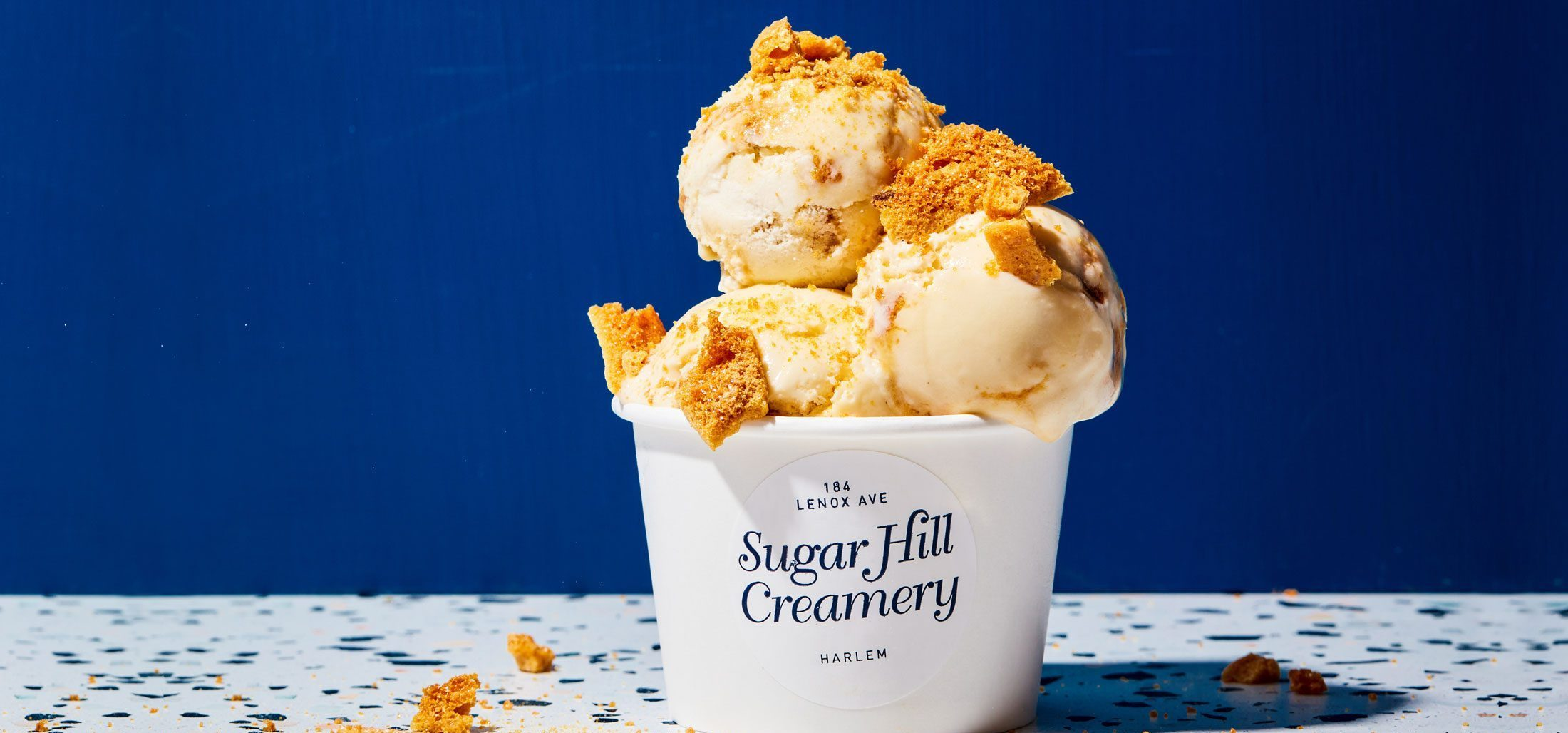 Ice cream from Sugar Hill Creamery.
